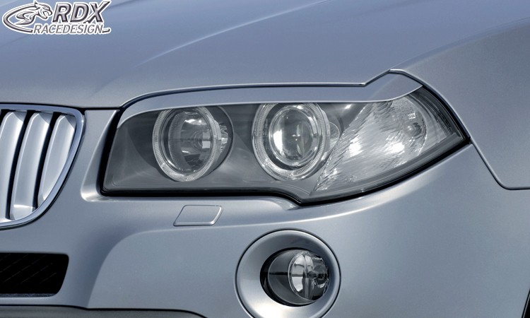 RDX Scheinwerferblenden BMW X3 E83 2003-2010 Böser Blick