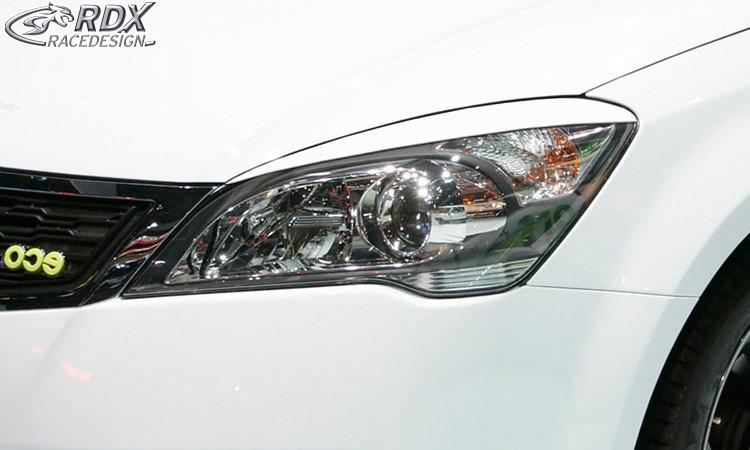 RDX Scheinwerferblenden KIA Ceed & Pro Ceed Typ ED 2009-2012 Böser Blick