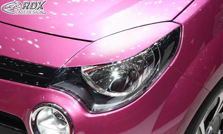 RDX Scheinwerferblenden RENAULT Twingo 2 Phase 2 2012-2014 Böser Blick
