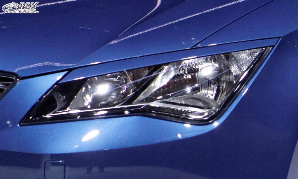 RDX Scheinwerferblenden SEAT Leon 5F / Leon 5F SC / Leon 5F ST Böser Blick