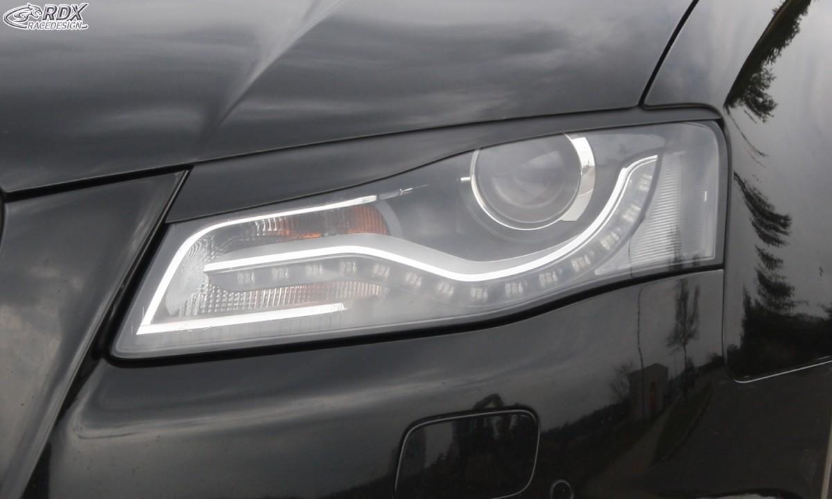 RDX Scheinwerferblenden AUDI A4 B8, B81, 8K (2008-2011) Böser Blick