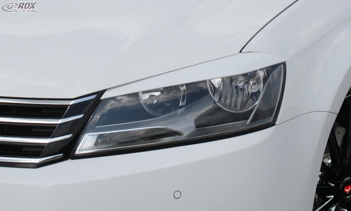 RDX Scheinwerferblenden VW Passat B7 / 3C Böser Blick