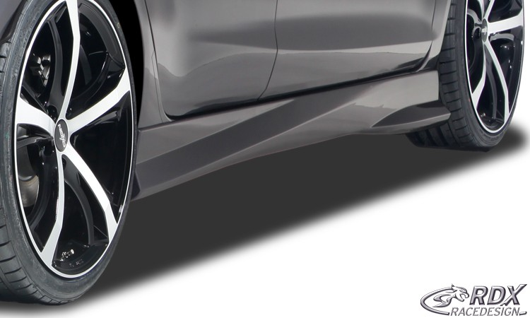 "RDX Seitenschweller FORD Fiesta MK7 JA8 JR8 (2008-2012 & Facelift 2012+) ""TurboR"""