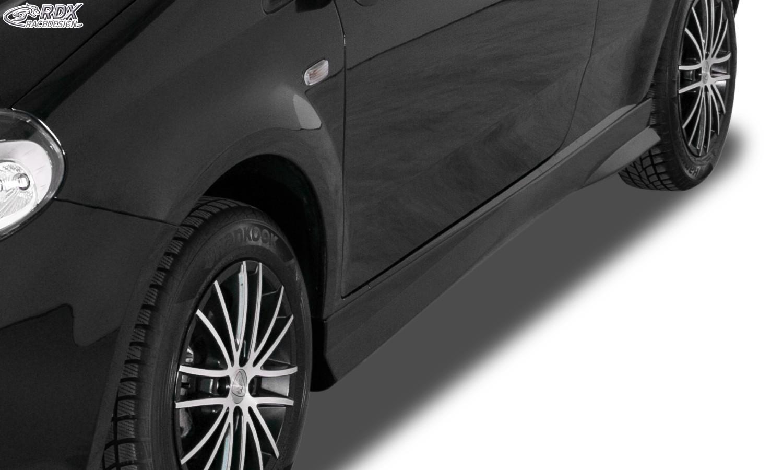 "RDX Seitenschweller Fiat Grande Punto, Punto Evo, Punto (199, 2005-2018) ""Turbo"""