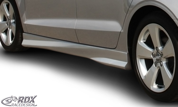 "RDX Seitenschweller AUDI A3 8V, 8VA Sportback, 8VS Limousine, 8V7 Cabrio ""Turbo"""