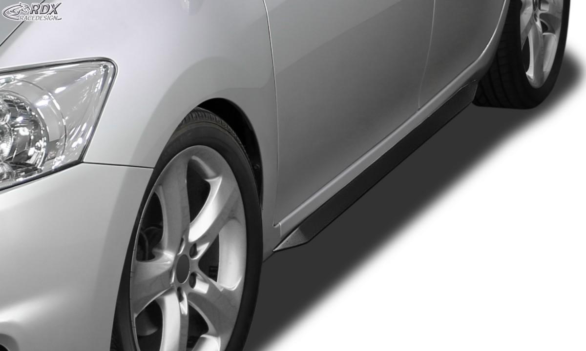 "RDX Seitenschweller TOYOTA Auris E150 (2007-2012) ""Slim"
