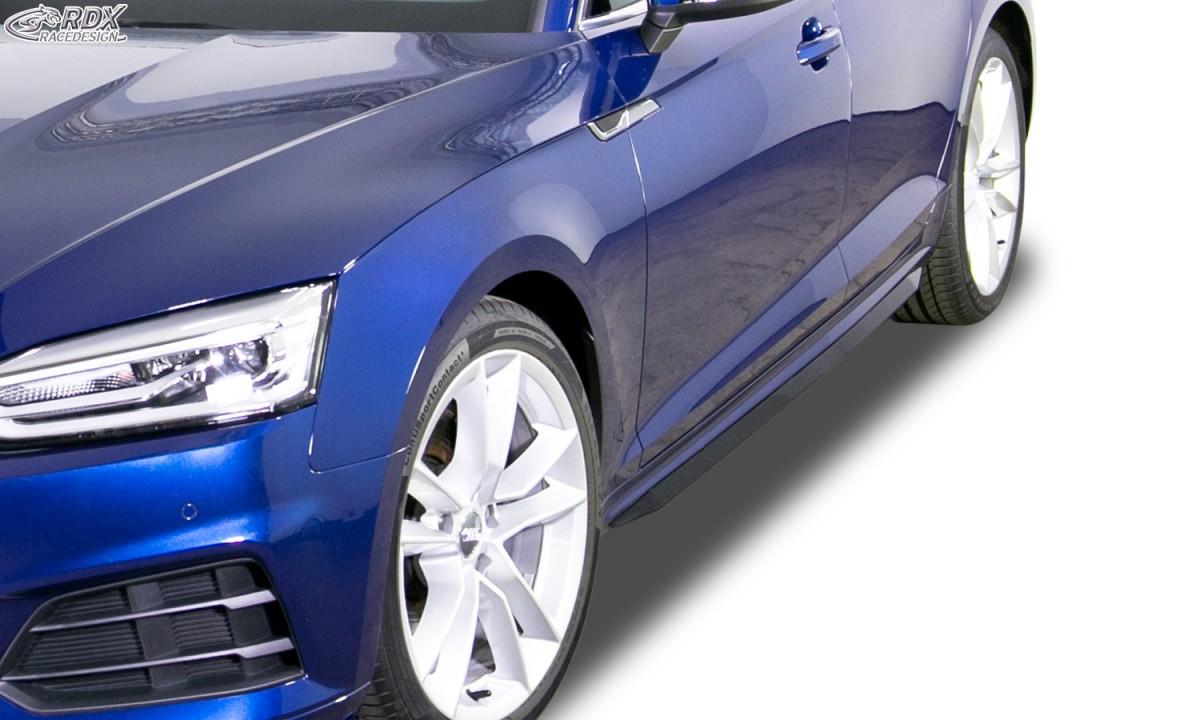 "RDX Seitenschweller AUDI A5 (F5) (Coupe + Cabrio + Sportback) ""Slim"""