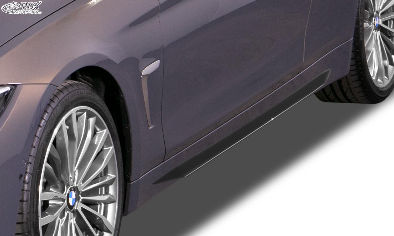 """RDX Seitenschweller BMW 4er F32 / F33 / F36 (-2017 & 2017+) """"Slim"""""""