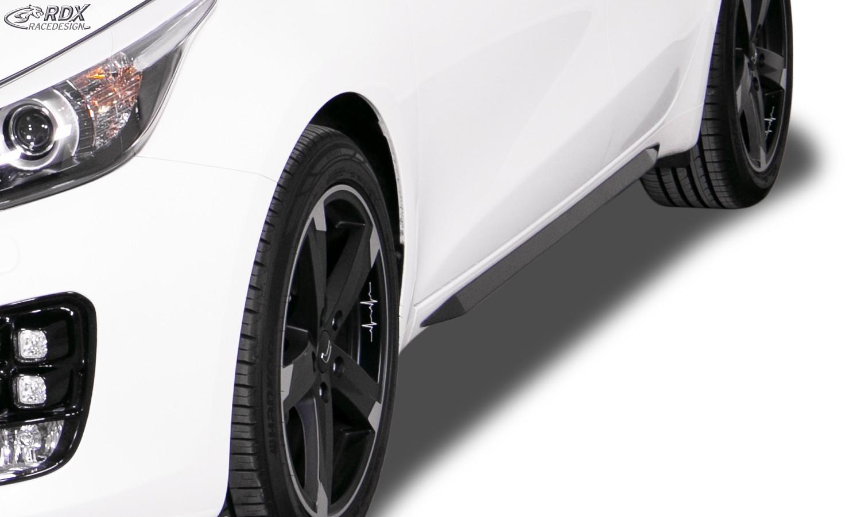 """RDX Seitenschweller für KIA Ceed, Ceed SW, Pro Ceed Typ JD (auch GT & GT-Line) """"Slim"""