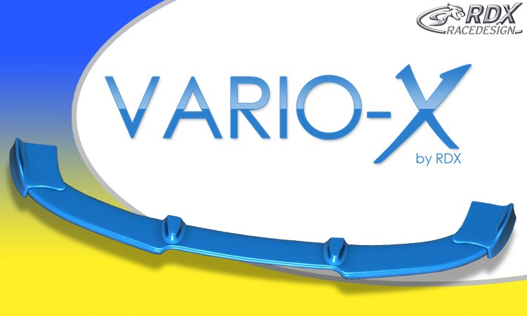 RDX Frontspoiler VARIO-X für FIAT Punto 2 Typ 188 Facelift Sporting 06/2003+ Frontlippe Front Ansatz Vorne Spoilerlippe