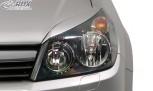 RDX Scheinwerferblenden für OPEL Astra H & Astra H GTC Böser Blick