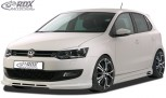 RDX Frontspoiler VW Polo 6R Frontlippe Front Ansatz Spoilerlippe