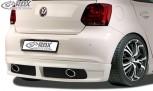 RDX Heckansatz VW Polo 6R Heckschürze Heck