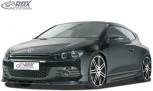 RDX Frontspoiler VW Scirocco 3 (2009-2014) Frontlippe Front Ansatz Spoilerlippe