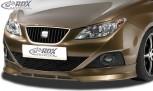 RDX Frontspoiler SEAT Ibiza 6J, 6J SC & 6J ST -03/2012 (nicht FR, Cupra, Bocanegra) Frontlippe Front Ansatz Spoilerlippe