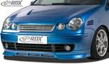 RDX Frontspoiler VW Polo 9N Frontlippe Front Ansatz Spoilerlippe