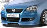 RDX Frontspoiler für VW Polo 9N3 Frontlippe Front Ansatz Spoilerlippe