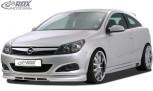 RDX Frontspoiler Opel Astra H GTC Frontlippe Front Ansatz Spoilerlippe