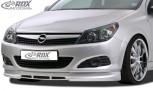 RDX Frontspoiler für OPEL Astra H GTC Frontlippe Front Ansatz Spoilerlippe