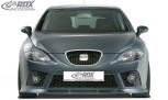 RDX Frontspoiler Seat Leon 1P FR / Cupra (bis 2009) Frontlippe Front Ansatz Spoilerlippe