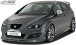 RDX Frontspoiler Seat Leon 1P Facelift (ab 2009) Frontlippe Front Ansatz Spoilerlippe