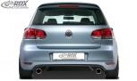 "RDX Heckansatz VW Golf 6 Heckeinsatz incl. Auspuff ""GTI-Look"" Komplett-Set"
