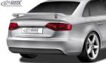 RDX Heckspoiler für AUDI A4 B8 Limousine Heckflügel Spoiler