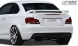 RDX Heckspoiler BMW 1er E82 / E88 Coupe / Cabrio Heckflügel Spoiler