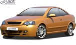 RDX Frontspoiler Opel Astra G Coupe / Cabrio Frontlippe Front Ansatz Spoilerlippe