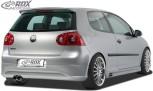 """RDX Heckansatz für VW Golf 5 """"R32 clean"""" Heckschürze Heck"""