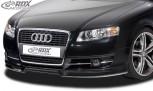 RDX Frontspoiler Audi A4 B7 Frontlippe Front Ansatz Spoilerlippe