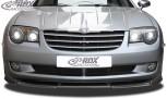 RDX Frontspoiler VARIO-X CHRYSLER Crossfire Frontlippe Front Ansatz Vorne Spoilerlippe