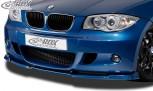 RDX Frontspoiler VARIO-X BMW 1er E81 / E87 (M-Paket bzw. M-Technik Frontstoßstange) Frontlippe Front Ansatz Vorne Spoilerlippe