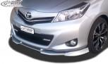 RDX Frontspoiler VARIO-X für TOYOTA Yaris P13 Frontlippe Front Ansatz Vorne Spoilerlippe