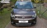 RDX Frontspoiler VARIO-X VW Touran 1T1 Facelift 2011+ / Caddy 2011+ Frontlippe Front Ansatz Vorne Spoilerlippe