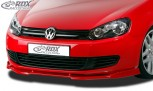 RDX Frontspoiler VARIO-X VW Golf 6 Frontlippe Front Ansatz Vorne Spoilerlippe