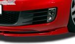 RDX Frontspoiler VARIO-X VW Golf 6 GTD, GTI Frontlippe Front Ansatz Vorne Spoilerlippe