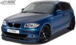 RDX Frontspoiler VARIO-X BMW 1er E81 / E87 -2007 Frontlippe Front Ansatz Vorne Spoilerlippe