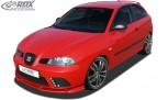 RDX Frontspoiler VARIO-X für SEAT Ibiza 6L FR / Facelift 2006+ (nicht Cupra) Frontlippe Front Ansatz Vorne Spoilerlippe