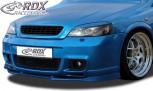 RDX Frontspoiler VARIO-X für OPEL Astra G OPC 2 (Passend an OPC 2 bzw. Fahrzeuge mit OPC 2 Frontstoßstange) Frontlippe Front Ansatz Vorne Spoilerlippe