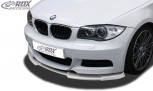 RDX Frontspoiler VARIO-X BMW 1er E82 / E88 (M-Paket bzw. M-Technik Frontstoßstange) Frontlippe Front Ansatz Vorne Spoilerlippe
