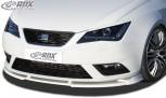RDX Frontspoiler VARIO-X SEAT Ibiza 6J, 6J SC & 6J ST Facelift 04/2012+ (nicht FR) Frontlippe Front Ansatz Vorne Spoilerlippe