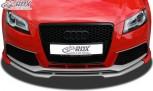 RDX Frontspoiler VARIO-X für AUDI RS3 2011+ (3türig + Sportback) Frontlippe Front Ansatz Vorne Spoilerlippe