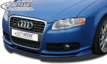 RDX Frontspoiler VARIO-X AUDI A4 B7 8H Cabrio 2005+ / S4 Cabrio 2005+ (S-Line- bzw. S4-Frontstoßstange) Frontlippe Front Ansatz Vorne Spoilerlippe