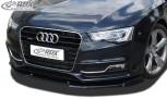 RDX Frontspoiler VARIO-X AUDI A5 2011+ / S5 (Coupe + Cabrio + Sportback, S-Line- bzw. S5-Frontstoßstange) Frontlippe Front Ansatz Vorne Spoilerlippe