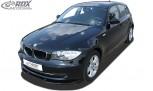 RDX Frontspoiler VARIO-X BMW 1er E81 / E87 2007+ Frontlippe Front Ansatz Vorne Spoilerlippe