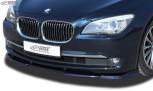 RDX Frontspoiler VARIO-X für BMW 7er F01 / F02 (-2012) Frontlippe Front Ansatz Vorne Spoilerlippe