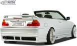 RDX Heckstoßstange für BMW E46 Heckschürze Heck