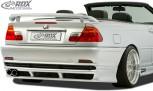 RDX Heckansatz für BMW E46 Coupe/Cabrio Heckschürze Heck