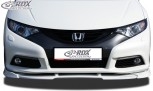 RDX Frontspoiler VARIO-X HONDA Civic 2012+ Frontlippe Front Ansatz Vorne Spoilerlippe